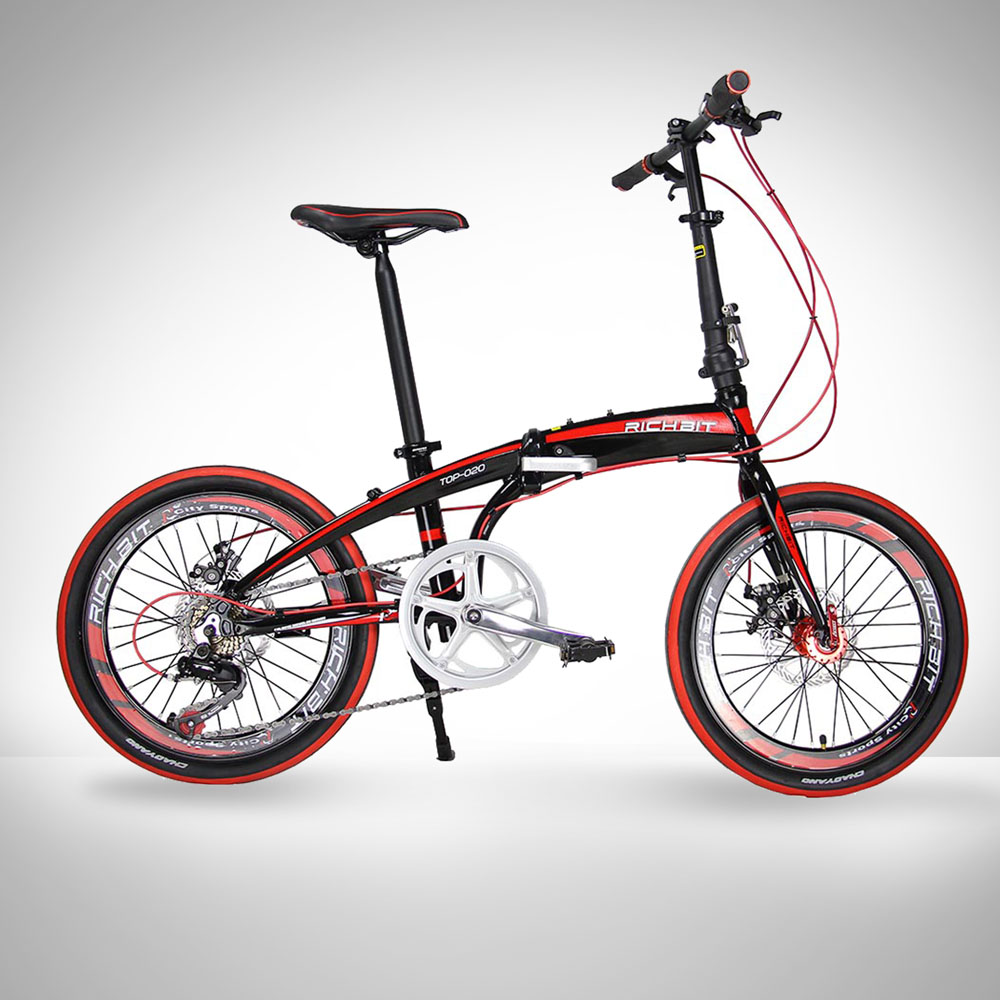 20in mini folding bike shiman0 7 gears portable mountain. Black Bedroom Furniture Sets. Home Design Ideas