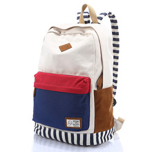 2015 Women Backpack Fashion Backpack For Girls Canvas Large Capacity Mochila escolar School Bags Teenage Backpack For School(China (Mainland))