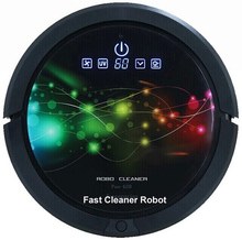 2016 Powerful High Grade Robot Vacuum Cleaner QQ6 Updated with150ml Water tank can do sweeping, vacuum, wet mop and dry mop(China (Mainland))