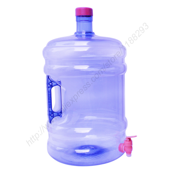 20 Liters PET Water Bucket with Screw-on Cap & on/off Spout(China (Mainland))