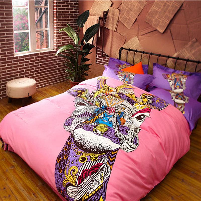 Здесь можно купить  pink king and queen bedding set pure cotton percale free shipping  Детские товары