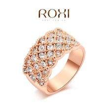 ROXI classic rings,rose gold plated top quality make with genuine Austrian crystals, fashion jewelry,2010016315(China (Mainland))