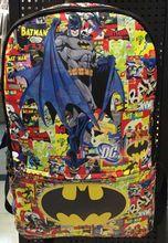 The Batman Comics Super Heroes Bag Leather Backpack School Travel Book Bag Gift(China (Mainland))