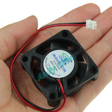 20 PCS LOT GDT 40mm 40 x 40 x 10mm 4010s 5V 2P Cooling Cooler DC Fan(China (Mainland))