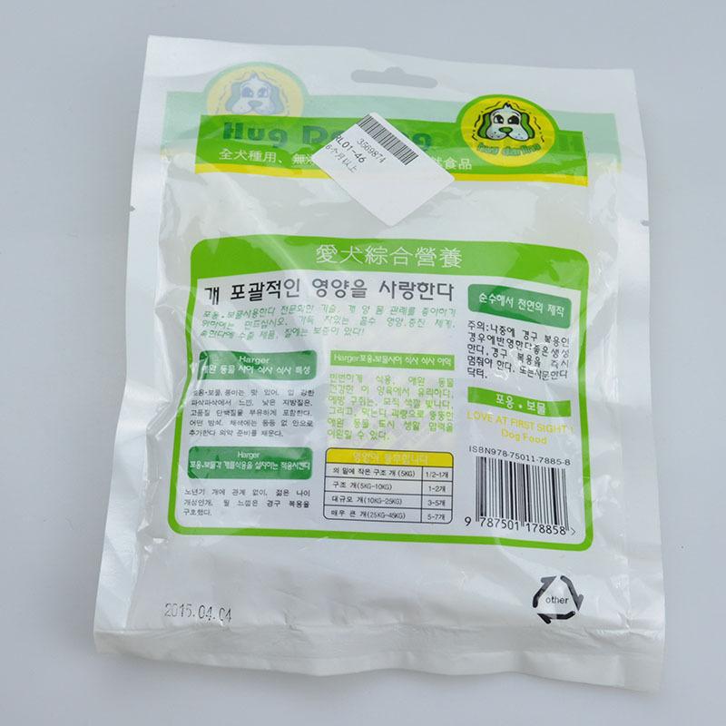 [해외]GL 헤거 개 간식 몰 맛있는 치킨 햄 고기 끈기 침 100gRL01..