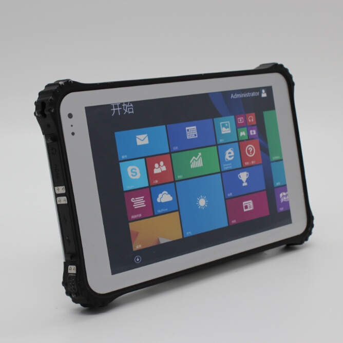 8 inch barcode fingerprint RFID rugged tablet pc, industry tablet pc, panel PC(China (Mainland))