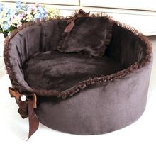 Hot Winter Soft Pet Dog Puppy Cat Soft Fleece Bed House Nest For Peg Cats Dog