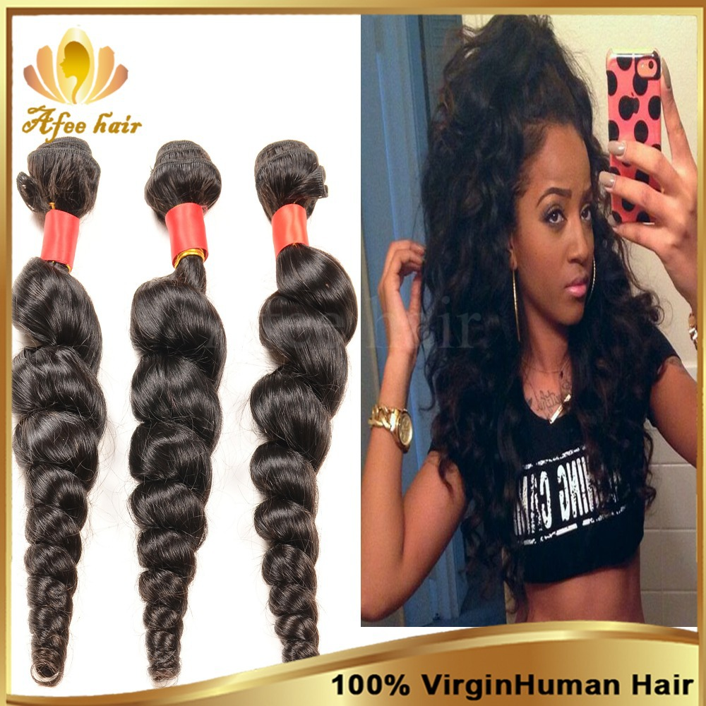 Cheap Brazilian Virgin Hair Natural Black Brazilian Loose Wave Human Hair Extension 3 Pcs 8-30,Brazilian Hair Weave Bundles<br><br>Aliexpress
