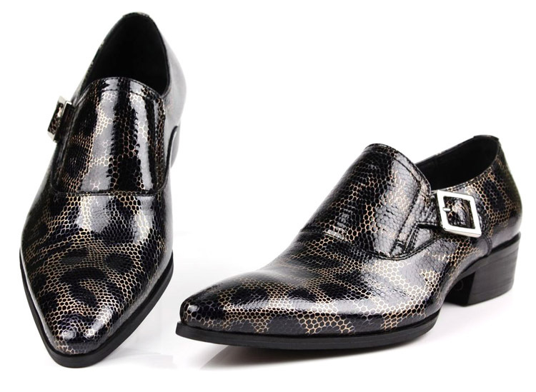 new real leather s dress shoes formal shoes slip on