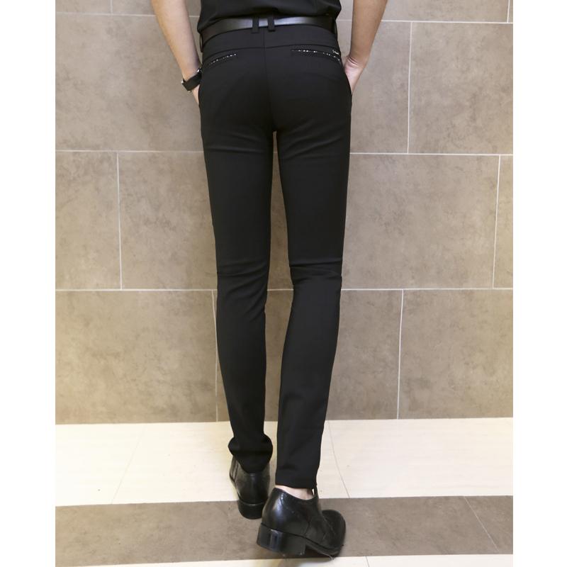 2015 Men Pants Skinny Suit Trousers Black Casual Slim Fit Calca Social ...: www.aliexpress.com/item-img/2014-New-Slim-Fit-Mens-Black-Social...
