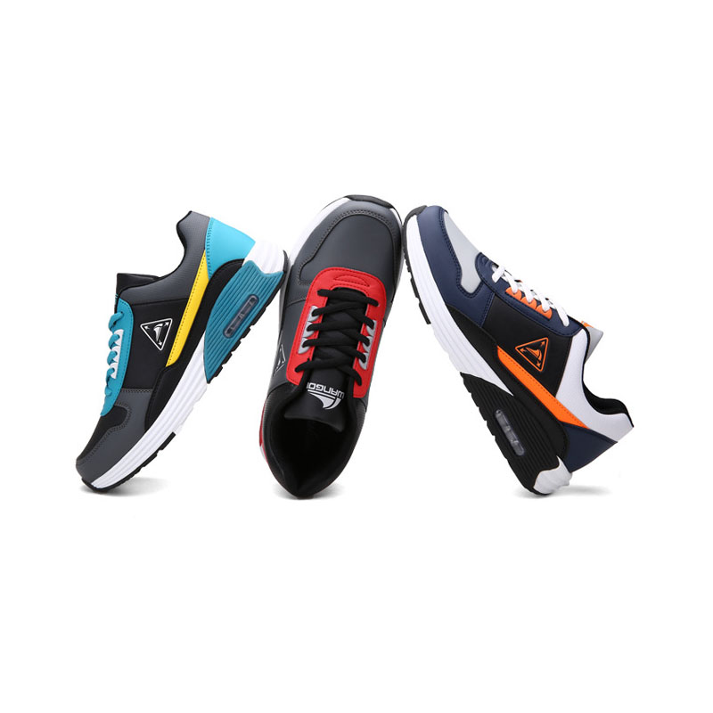 Фотография 2016 spring air cushion style for jogging outdoors running shoes low cut comfortable light weight sneakers comfort breath 249
