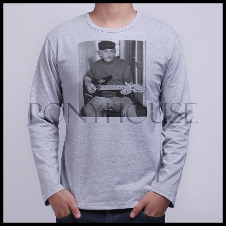 2015E JYF ALBERT PUNK ROCK BLUES EINSTEIN men's T-shirt, shirt sleeve(China (Mainland))