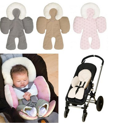 Infant car seat cushion car cushion car mats Reversible Baby Strollers Body Support Pad Mat Baby Head Body Support Cushion(China (Mainland))