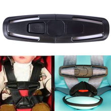 2015 Car Baby Child Safety Seat Strap Belt Harness Chest Clip Buckle Latch Nylon #69281(China (Mainland))