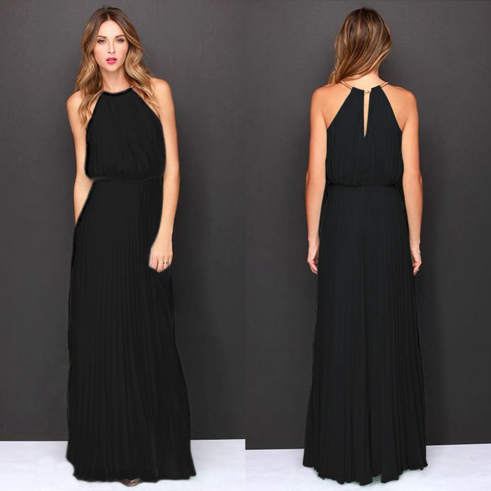 black halter dresses long « Bella Forte Glass Studio
