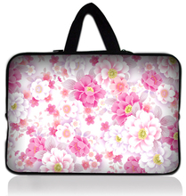 "Buy 13"" Pink Flower Neoprene Soft Laptop Netbook Sleeve Bag Case Cover +Hide Handle Macbook Pro 13.3 Inch HP Dell Sony Acer for $9.79 in AliExpress store"