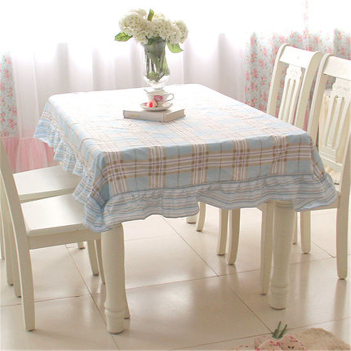 Aliexpresscom Buy MK Korean Pastoral ruffles cloth LSGD  : MK Korean Pastoral ruffles cloth LSGD dining table cover set tablecloth table dining chair cover table from www.aliexpress.com size 700 x 700 jpeg 101kB
