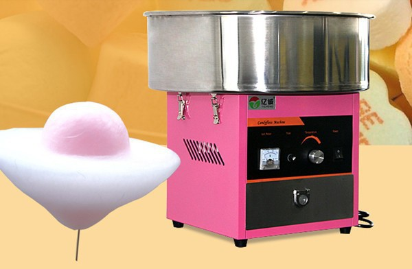 220v electric Pink color commercial Cotton candy maker marshmallow machine candy floss machine spun sugar machine(China (Mainland))