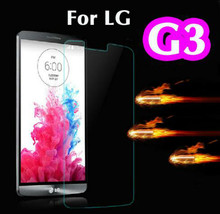 4x Tempered Glass Screen Protector For LG G3 Toughened Protective Cover Film Foil For LG G3 D855 with Box +Clean Kits