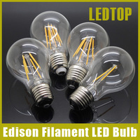 Dimmable E27 Led Bulb 2w 4w 8w 12w 16W Edison Filament COB Lamp 360 Degree 220V 230V Retro Globe Lighting Indoor Living Room