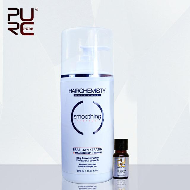 Бразильский кератин лечение выпрямления 8% волос кератина 500 мл уход за волосами ...