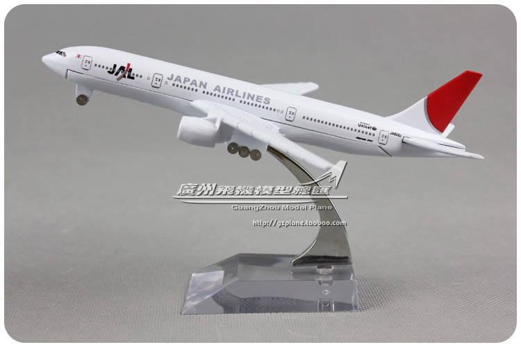 16cm JAPAN JAL B777 JA603J Airlines Alloy Airplane Model Airways Plane Model Diecast Souvenir Collections Free Shipping(China (Mainland))
