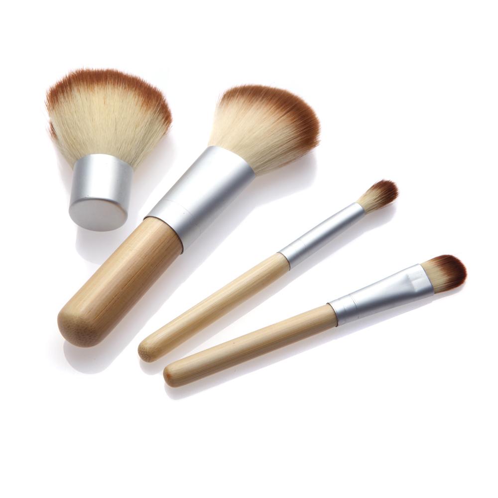 2016 HOT! Natural Bamboo Handle Makeup Brushes Set Cosmetics Tools Kit Powder Blush  -  Color Your Life store