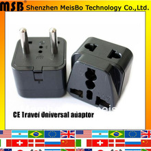 Buy Worlddwide travel 10A 250V ABS material philippines canada uk aus US eu plug adaptor 500pcs/lot free Fedex for $473.10 in AliExpress store