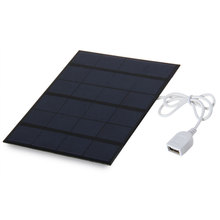 6V 3.5W Solar Power Panel Charger USB OTG Portable Solar Charger Device Solar Panel Power Source for phone(China (Mainland))
