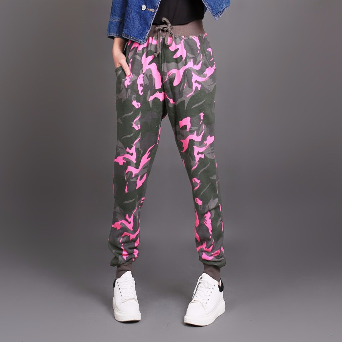 High-Quality-Autumn-Winter-Womens-Cotton-Camouflage-Pants-High-Waist-Fashion-Casual-Sweatpants-Skinny-Trousers-Puls