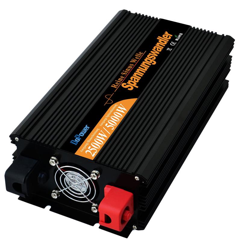 2500w 5000 watt peaking Sinus Wechselrichter spannungswandler DC 24V TO AC 220v 230V solar inverter(China (Mainland))