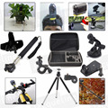 Travel Case Bag Accessories Kit Tripod Monopod Holder for Sony Action HDR AS20 AS100V AS30V AS15