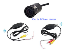 2.4GHz RCA Transmitter & Receiver Video Kit Wireless Rear view Camera For Car DVD Player Parking Monitor(China (Mainland))