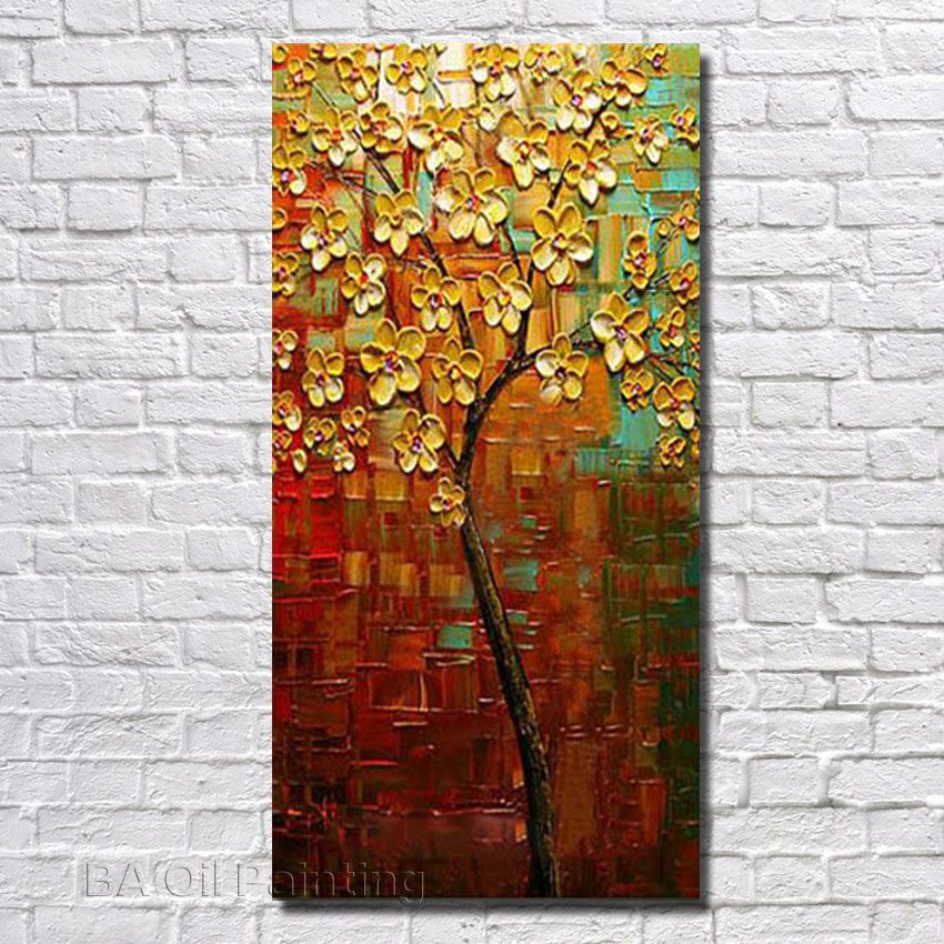 Free Shipping 100Hand Painted Canvas Oil Paintings