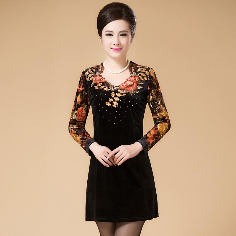 aliexpress buy sleeve dress pleuche
