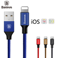 Baseus Lightning For iPhone Cable 2 0A Fast Data Sync Charging USB Cable For iPhone 7