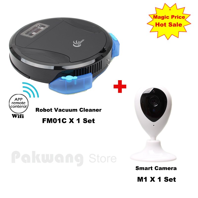 PAKWANG Wet and Dry Planned Mobile App Robot Vacuum Cleaner for Home Automatic Sweeping Remote Control Vacuum And Smart Monitor(China (Mainland))