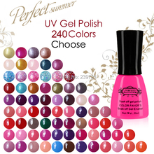 Perfect Summer Time limited 50 OFF Top Quality Nail Gel Polish 240 Fashion Colors Soak OFF