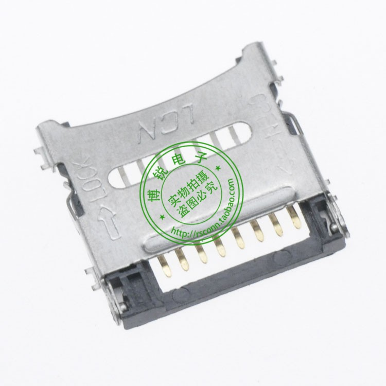 High-quality TF deck connector solder clamshell packaging tape(China (Mainland))