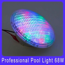 Swimming Pool Light With Remote 68W stainless steel shell