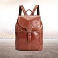 2016 Wholesale Men Wonmen Genuine Leather Bag Superior Cowhide Boy Girls Vintage Thick Canvas School Bags