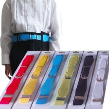 Free Shipping 2015 New Hot Sale Candy Color 1 Inch Wide Kids/Children Elastic Waist Belt For Boys/Girls.More Color Can Choose