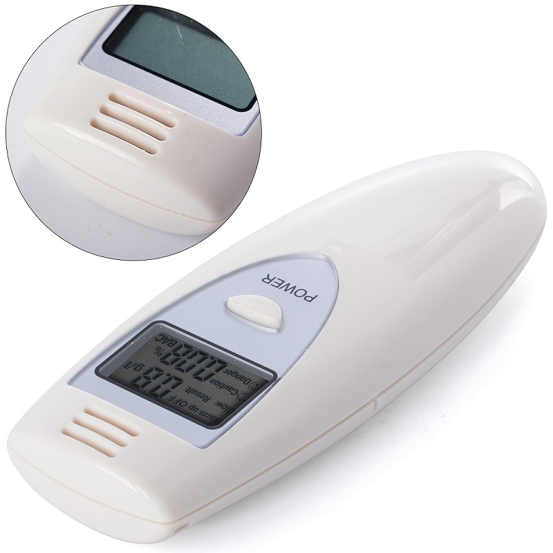 Digital LCD Alcohol Breath Tester Analyzer Breathalyzer Breathalyser Detector Test YB186-SZ(China (Mainland))