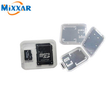 High Quality TF Micro SD Card Reader Memory Card Plastic Case White(China (Mainland))