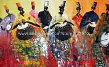 Ramadan African Fine Art Music Painting Handmade  Oil Paintings Cafe Art Panel Art Huge Picture Painting Cheap Country Decorati(China (Mainland))