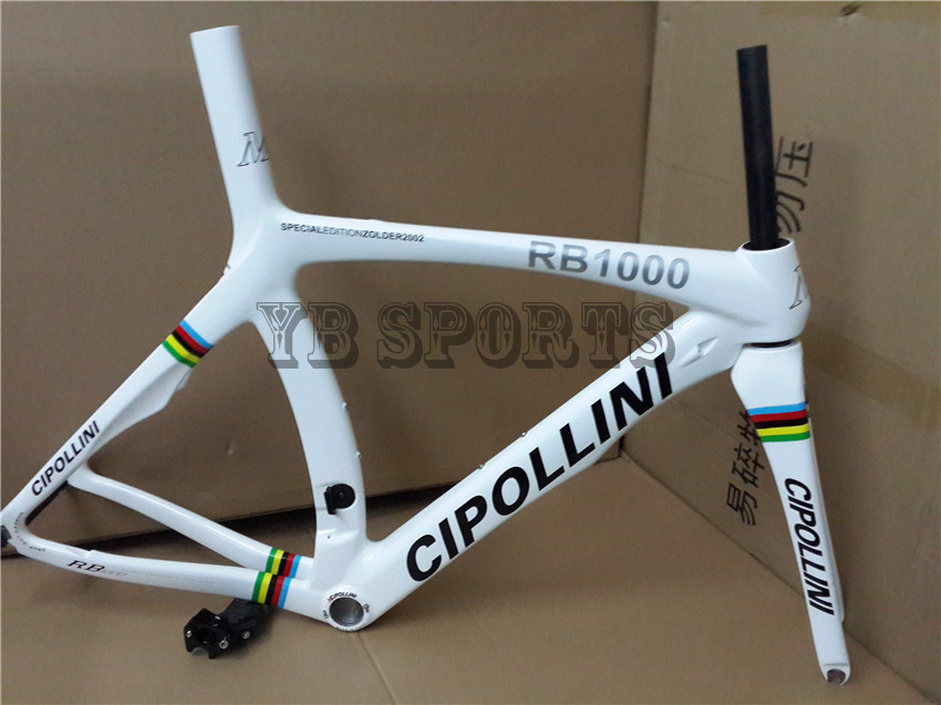 champion version!carbon frame MCipollini RB1000 and NK1K Carbon road frame+fork+seat post+clamp+headset(China (Mainland))