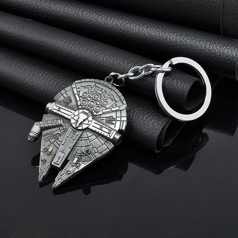 Гаджет  New 2015 Movie Star Wars Spaceship Logo Metal Pendant Key Chain keyring for fans Keychain men Gift Free shipping None Ювелирные изделия и часы