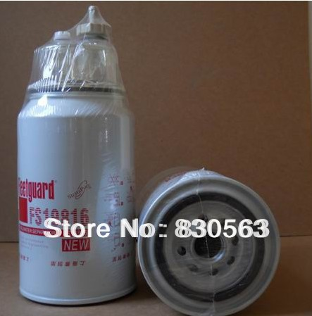 Free Shipping FS19816 fuel filter fuel water separator wtih water bowl plastic cup(China (Mainland))