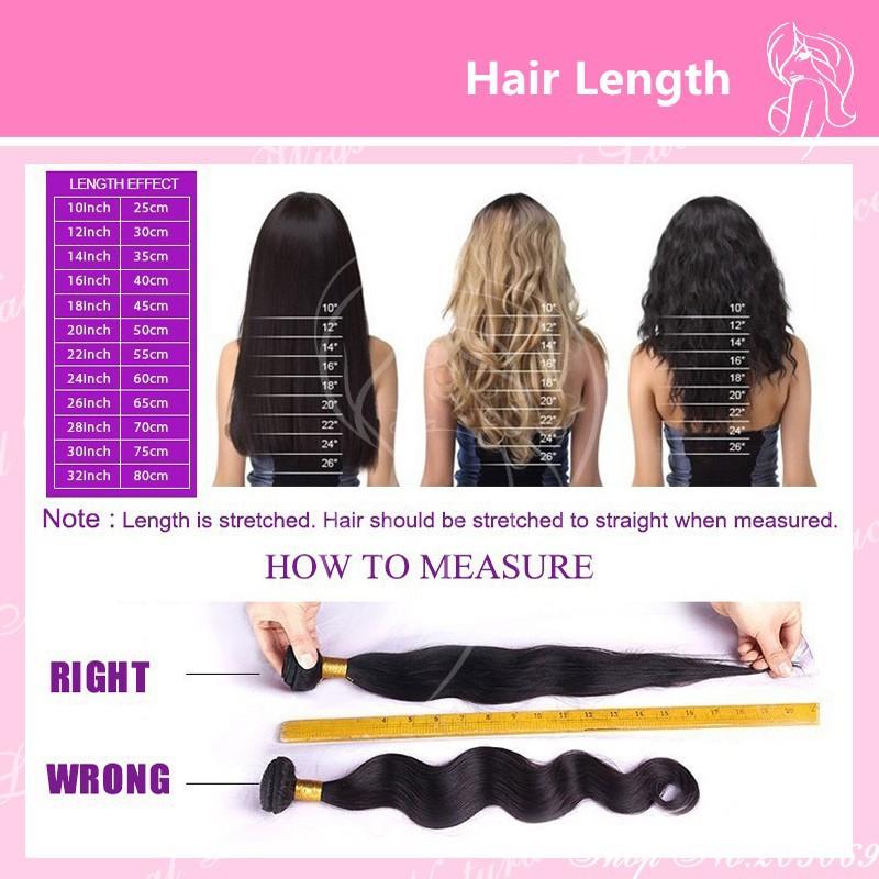 8hair length