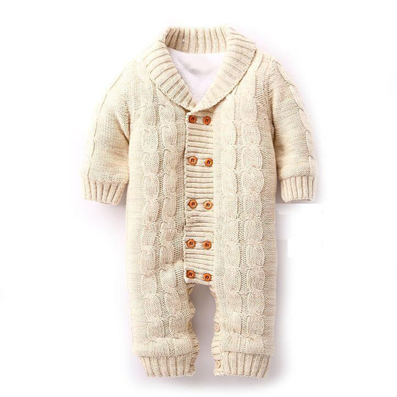 Newborn Baby Boy Knitted Clothes Sweater Jeans Boots